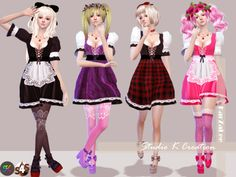 KarzaleeMaid dress-Miranda (S4CC)