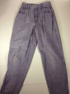 Liz Wear 12 Denim Jeans Lavender Wash | eBay