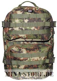 mina-store.de - US Rucksack Assault II vegetato