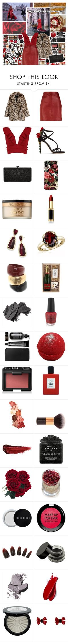 """wish"" by ezster ❤ liked on Polyvore featuring Sandro, Boohoo, Dolce&Gabbana, Deux Lux, iDeal of Sweden, Concrete Minerals, Too Faced Cosmetics, L'Oréal Paris, Kendra Scott and Jewelonfire"