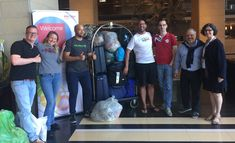 JP's ex-colleagues from Ricoh International brought almost 200 kg of children's clothing from the Netherlands to Cape Town! They are having a Business Conference and offered space in their luggage to support the children.  https://www.sosasupport.nl/en/record-amount-of-kg-delivered/