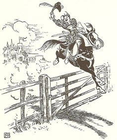 ... cabell s jurgen 1921 by english artist frank cheyne pape there should Many more magical illustrations of Frank Cheyne Papé at http://vintagebookillustrations.com/frank-cheyne-pape/