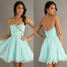 gratis mint gekleurde shippingcheap geliefde kralen prom dresses 2014 nieuwe korset korte mini cocktail homecoming jurken