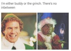 I'm either buddy the elf or I'm the grinch there is no in between Merry Christmas you filthy animals Funny Buddy The Elf Memes from Items tagged as Animals Meme Christmas Quotes, Christmas Humor, Christmas Fun, Holiday Fun, Funny Christmas Memes, Funny Christmas Wallpaper, Holiday Movies, Christmas Movies, Holiday Ideas
