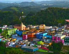 Barranquitas, Puerto Rico. El pueblo donde nació mi querido Padre. Don José Antonio (Don Toño).