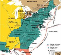 map of canada and us territory circa 1812 the war of 1812 and after