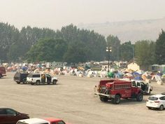 Tent City: There are now 1,300 firefighters temporarily living in Omak while they are busy fighting fires across the county. As the top priority in the country right now, more supplies are being funneled in to support the effort to kill the Okanogan Complex Fire.