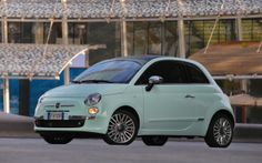 2014 Fiat 500 Cult edition #fiat500 the best colour ever