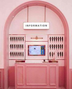 The style that Wes Anderson carries into his films is unlike no other. It's worldly, historic, and it's all in the details. Here are 25 Real-life places that belong in a Wes Anderson film. #WesAnderson #Films #Travel #travelguides #style #aesthetic #pink Aesthetic Photo, Pink Aesthetic, Wes Anderson Style, Wes Anderson Hotel, Stylenanda Pink Hotel, Grand Budapest Hotel, New Interior Design, Milk Shop, Photo Wall Collage
