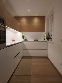 Cucina moderna di arredamenti piva moderno   homify Kitchen Room Design, Bathroom Design Small, Ikea Kitchen, Modern Kitchen Design, Kitchen Furniture, Kitchen Interior, Kitchen Cabinets, Interior Design Inspiration, Home Decor Inspiration