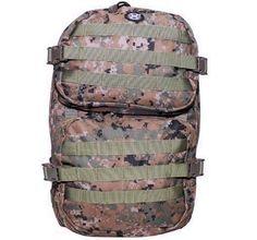MFH US Rucksack, Assault II, digital woodland / mehr Infos auf: www.Guntia-Militaria-Shop.de