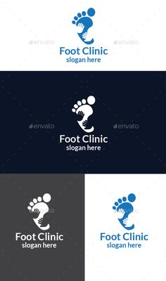 Foot Clinic Logo by design_big Available in EPS 10 & AI Vector format CS format fully editable Easy to change text and color Resizeable Use free font Font l care logo Vector Logo Design, Logo Design Template, Logo Templates, Business Logo, Business Card Design, Pilates Logo, Free Printable Business Cards, Clinic Logo, Care Logo