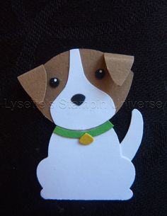 Foxbuilderpunch challenge dag 48: Jack Russel https://www.facebook.com/Lysettes.stampin.universe/
