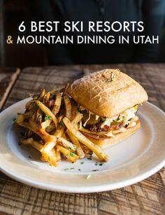6 Best Ski Resorts & Mountain Dining in Utah (Female Foodie)