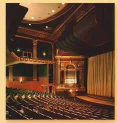 Stevens Center, Downtown Winston-Salem...I've danced on that stage!!! :)