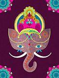 Ganesh, my favorite Elephant Love, Elephant Art, Indian Gods, Indian Art, Little Buddha, Lord Ganesha, Baby Ganesha, Gods And Goddesses, Illustrations Posters