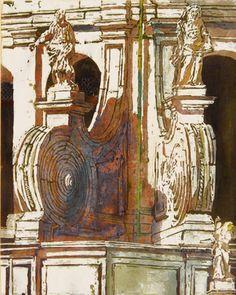 "la salute / venice  14"" x 11""  micheal zarowsky / watercolour on arches paper / available $400.00"