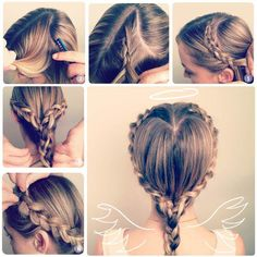 Valentine's+Day+is+around+the+corner.+There+are+heart+shapes+everywhere,+including+hairstyle!+Here+is+a+step+by+step+tutorial+for+a+heart+shaped+braid.+It+looks+so+pretty.+It+can+be+used+for flower+girl+hair,+too.+If+you+have…