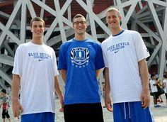 Miles, Mason and Marshall Plumlee