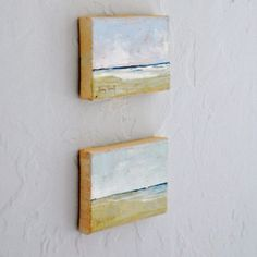 I'd love to have another small painting.
