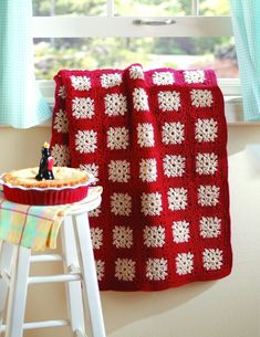 "motleycraft-o-rama:  From the book ""Square by Square Granny Afghans"" by Carol Holding."
