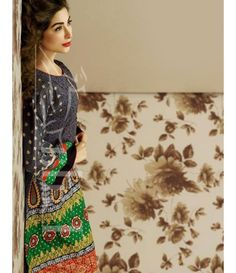 Lala Brocade Embroidered Kurtis Collection 2016 BRK_05
