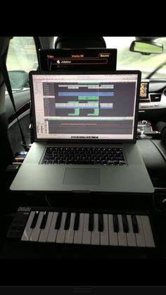 Backseat studio!