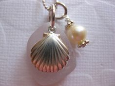 Sea glass pendant #sea glass beads & #sea charms: http://www.ecrafty.com/c-780-sea-glass-beads.aspx?pagenum=1===newarrivals=60