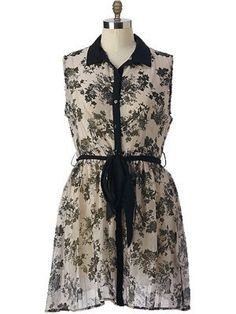 Plus Size Floral Vintage Dress | Madison Plus Select