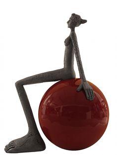 São Mamede - Art Gallery  Pedro Figueiredo Cibele (125/06) 2012 143 cm x 72 cm x 108 cm  #PedroFigueiredo #Sculptures at #SãoMamede #Art #Gallery in #Oporto #Portugal #Artwork #Artist #Exhibition