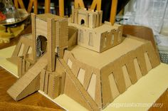 How To Build A Ziggurat For A School Project Ancient