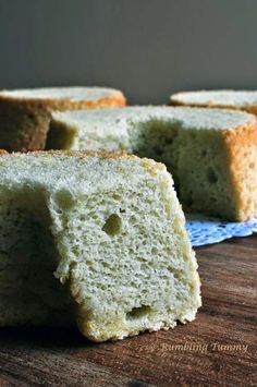 Rumbling Tummy: Avocado Chiffon Cake