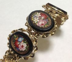 Italian Micro Mosaic Jewelry | Roll over Large image to magnify, click Large image to zoom