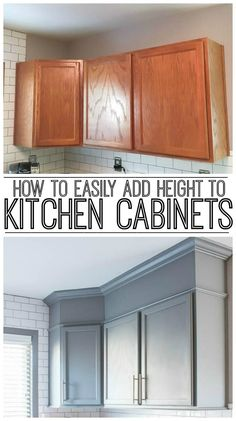 how to install crown molding on kitchen cabinets home crown rh hu pinterest com