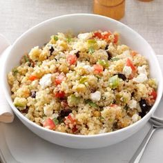California Quinoa Recipe | Taste of Home Recipes