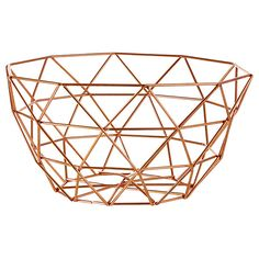 Target Australia: Lisa T Wire Basket Industrial Living, Rustic Industrial, Copper Decor, Copper Accents, Wire Baskets, Urban Chic, Home Staging, Art Deco Fashion, Home Projects