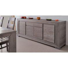 Parisot Titan Sideboard Rustic Buffet, Rustic Sideboard, Sideboard Buffet, Credenza, Tv Furniture, Furniture Deals, Furniture Design, Bedroom Dresser Sets, Bedroom Decor