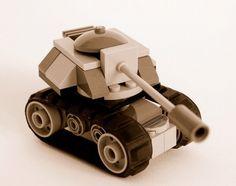 LEGO Microscale tank