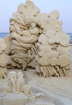 Sand Sculptures | Flickr - Photo Sharing!