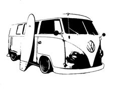 vw stencil by thissideleft on DeviantArt