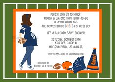 141 best football baby shower images on pinterest football baby football baby shower invitations boy baby shower themes baby shower fun baby shower parties filmwisefo