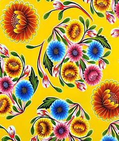 Hello kitchen table using pattern on http://scientificseamstress.blogspot.com/2011/10/circular-logic.html