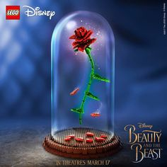 "2,078 Likes, 20 Comments - Oh My Disney (@ohmydisney) on Instagram: ""Loving this enchanted @LEGO rose!  #BeautyAndTheBeast"""