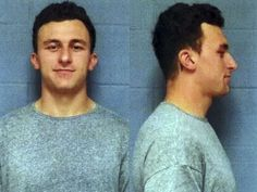 This booking photo provided by the Highland Park, Texas, Department of Public Safety, shows former Cleveland Browns quarterback Johnny Manziel, who was booked and posted bond Wednesday, May 4, 2016, in a domestic violence case, one day before he faces his first court hearing. The Heisman Trophy winner and former Texas A&M star was indicted by a grand jury last month after his ex-girlfriend alleged he hit her and threatened to kill her during a night out in January.