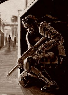 I've discovered Angel Marin Artwork in the Metal Gear Art Studio. Have a look or choose your own free canvas.