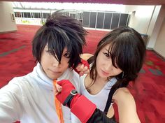 My Tifa and L cosplay