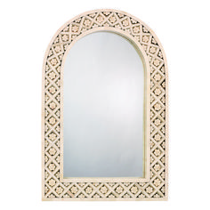 Not this pattern but like the idea of an arch shape to tie in brick archways