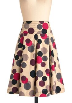 Running in Circles Skirt, #ModCloth