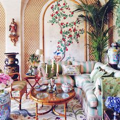 At Home With | Places: Valentino Garavani's Château de Wideville, France -