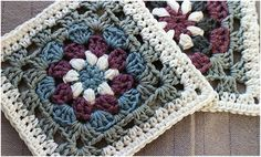 Lily Pad – Stunning Crochet Granny Square – Free Pattern